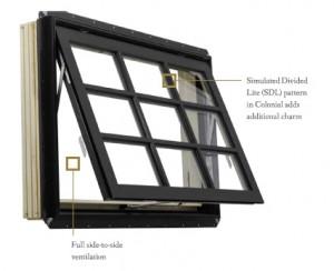 Beechworth awning style window